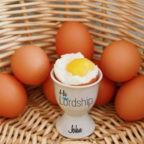 Personalised Statement Egg Cup